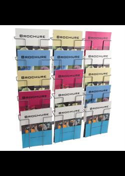 Brochureholder til væg Index 15 x A4-20