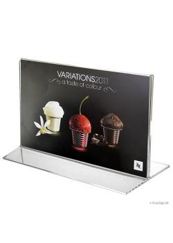 T-Stand menukortholder i bredformat-20