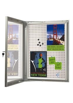 Opslagsskab med lås Infobox Combi 6*A4-20