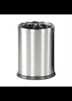 Papirkurv Lux i børstet stål-20