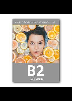 Plakat med print / tryk i B2 50x70 cm.-20