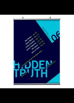 21 cm. plakatophæng/plakatliste Poster-Hanger-20