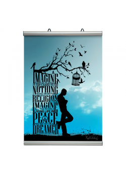 70 cm. plakatophæng/plakatliste Poster-Line-20