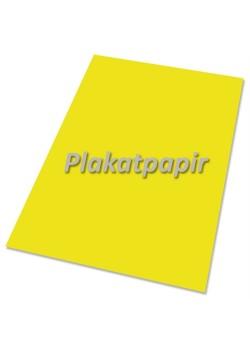 Plakatpapir, 90gr. gul 60x85cm. (250 ark)-20