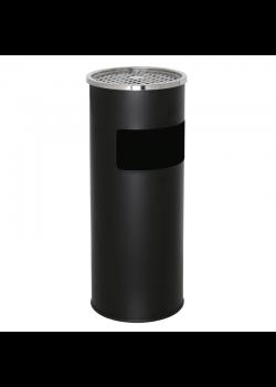 Udendørs askebæger - Sort Floor tube rustfri