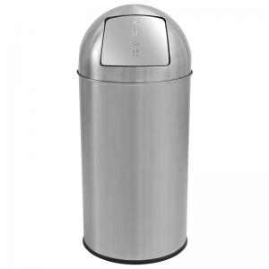 Affaldsspand med vippelåg - 25 liter