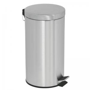 20L. Affaldsspand - Pedalspand med pedallåg i rustfrit