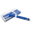 Blå whiteboard tuscher, penne, marker
