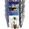 Index Basic A4 brochureholder til gulv-00