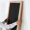 Cafe skrive tavle sort - kridt og whiteboard