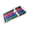 Mix af whiteboard tuscher - Sort, Rød, Grøn, Blå