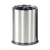 Papirkurv Lux i børstet stål-00