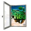 Plakatskab med lås - Åben