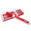 Røde whiteboard tuscher, penne, marker