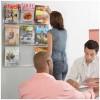 Safco brochureholder 6xA4-00