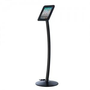 iPad stander til gulv model Kiosk - Sort