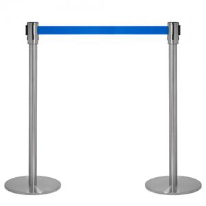 Kø kontrol - VIP afspærring med blåt bånd