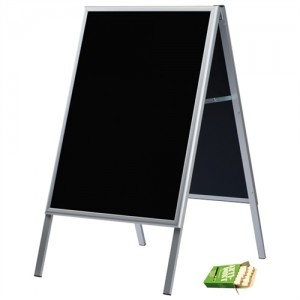 Alu-Line Blackboard gadeskilt