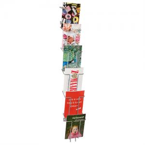 Brochureholder til væg - Index 6 x A6