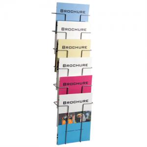 Brochureholder til væg - Index 6 x A4
