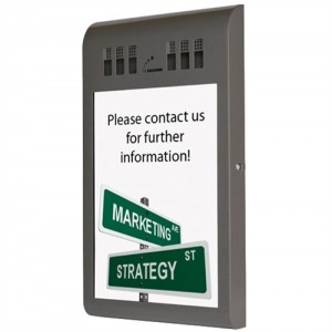Info A3 - Udendørs askebæger