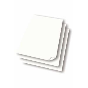 Papir til flipover tavle - 5 blokke á 50 ark.