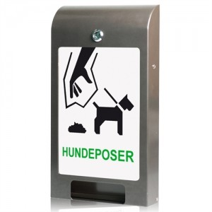 Hundepose dispenser, til A4 info