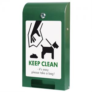 Hundepose automat, til A4 info - Grøn
