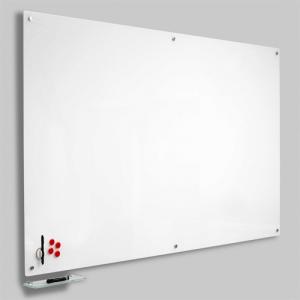 Magnetisk Glastavle - Hvid 60x90 cm.
