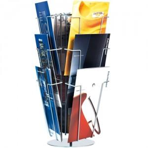 Brochurekarrusel - Bord 9 x A4