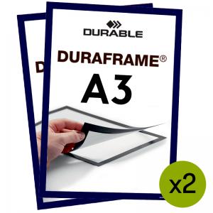 Duraframe® magnetramme - A3 Mørk blå
