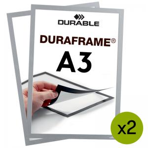 Duraframe® magnetramme - A3 Sølv