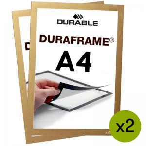 Duraframe® magnetramme - A4 Guld