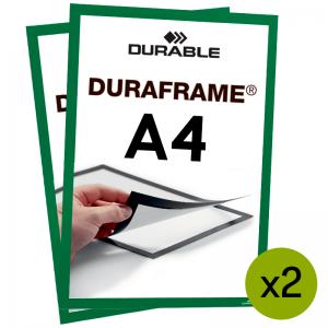 Duraframe® magnetramme - A4 Grøn