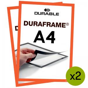 Duraframe® magnetramme - A4 Orange