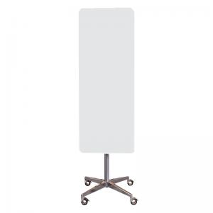 Mobil magnetisk glastavle - Hvid