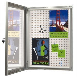 Opslagsskab med lås - Infobox Combi 12*A4