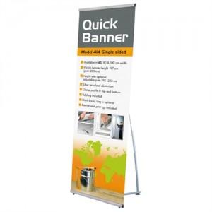 Quick Banner Stand - Enkeltsidet