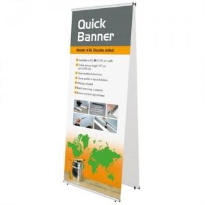 Quick Banner Stand - Dobbeltsidet