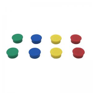 Tavle magneter - Farvede (8 stk.)
