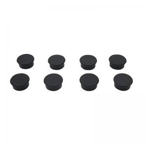 Tavle magneter - Sorte (8 stk.)