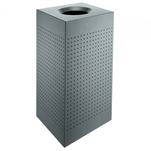 Udendørs affaldsbeholder, skraldespand - Large
