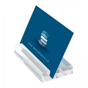 Akryl blok visitkortholder - Small