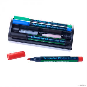 Whiteboard kit - tuscher, spidse (4stk.)