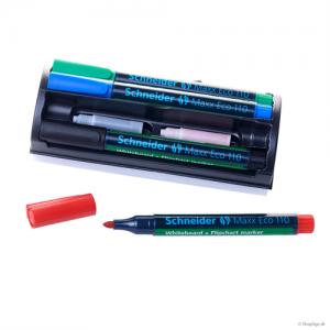 Whiteboard kit - tuscher, spidse (4stk.)